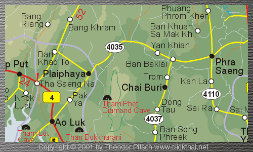 Copyright ClickThai Map